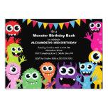 Festa de aniversário pequena BONITO da festança do Convites Personalizado