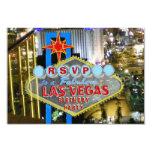 Festa de aniversário RSVP de Las Vegas Convite