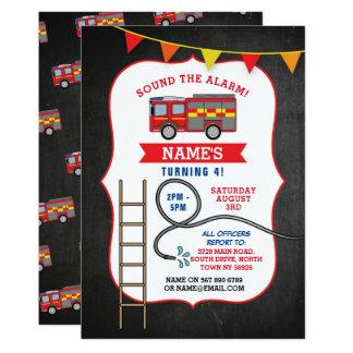 Festa de aniversário Serviço Convite do caminhão