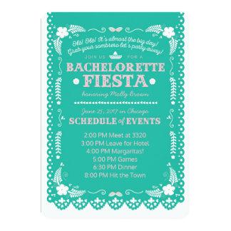 Festa de Bachelorette Convite 12.7 X 17.78cm