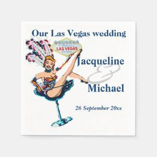 Festa de casamento de Las Vegas Guardanapo De Papel