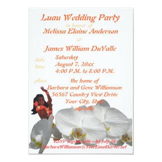 Festa de casamento de Luau para casais