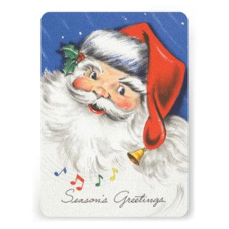 Festa de Natal alegre alegre da música do papai no Convites