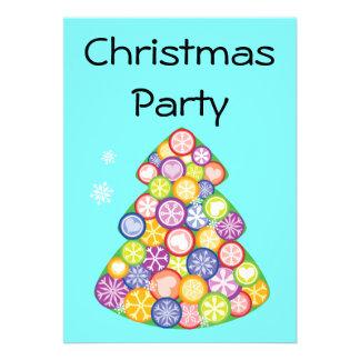 Festa de Natal Convites Personalizado