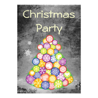 Festa de Natal Convites Personalizados