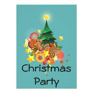 Festa de Natal Convite Personalizados