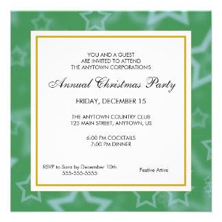 Festa de Natal do profissional do negócio Convite