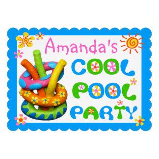 Festa na piscina legal convites