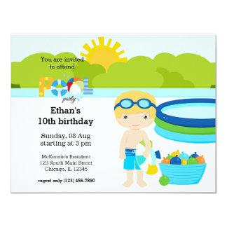 Festa na piscina (menino)