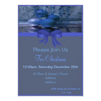 Festa natalícia do Natal Convite 12.7 X 17.78cm