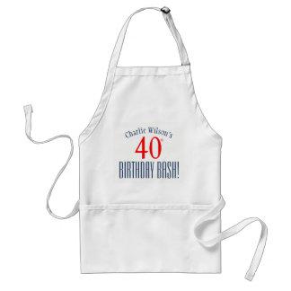 Festança do aniversário de 40 anos! Avental da