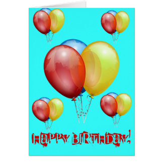 Festas de aniversário cartoes