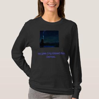 Festival da rocha do feiticeiro da Nova Iorque Camiseta
