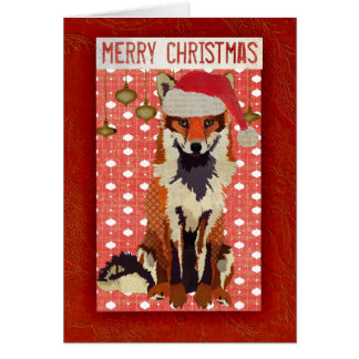 Festive Fox Card