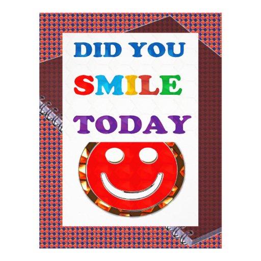 FEZ o sorriso 2DAY de U - cursos brilhantes do pos Papel De Carta