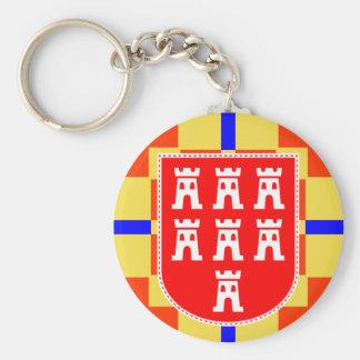 Fiador de sete Saxônia brasão porta-chaves