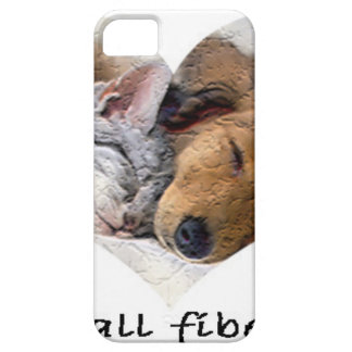 Fibras do amor capa barely there para iPhone 5