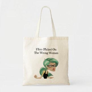 Fibro escolhido no bolsa errado da mulher