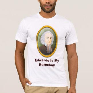 Ficar em casa #5 de Edwards Camiseta