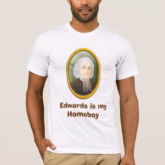 Ficar em casa #6 de Edwards Camiseta