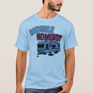 Ficar em casa móvel camiseta