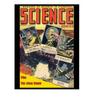 Ficção científica cómica: História em quadrinhos 1 Cartões Postais