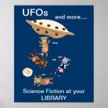 Ficção científica impressão