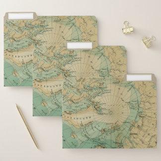 Ficheiro Arctic Ocean Map Durable