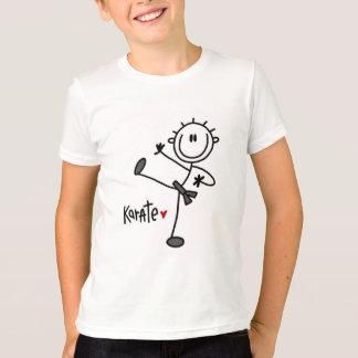 Figura básica t-shirt e presentes da vara do camiseta