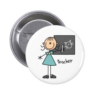 Figura botão da vara do professor bóton redondo 5.08cm