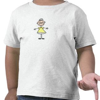 Figura camisa da vara da avó da família tshirts