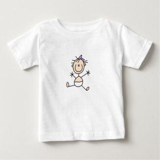 Figura camisa da vara da família do bebê camiseta