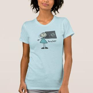 Figura camisa da vara do professor t-shirt