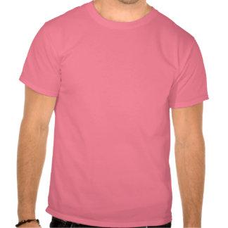 Figura camisa do patinador & corações cor-de-rosa t-shirts