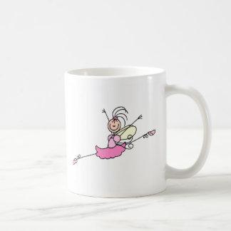 Figura caneca da vara da menina da bailarina