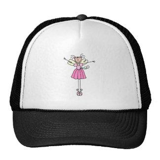 Figura chapéu da vara do dançarino de balé boné