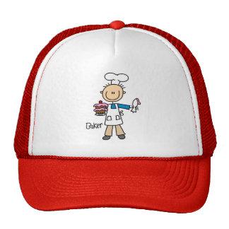 Figura chapéu da vara do padeiro boné