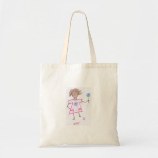 Figura da vara da criança do saco sacola tote budget