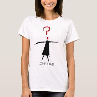 Figura da vara do clube do clone do preto órfão camiseta