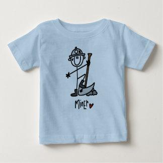 Figura da vara do mineiro t-shirts