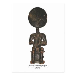 Figura de maternidade cartão de Ashanti