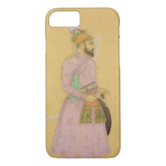 Figura ereta de um príncipe de Mughal, do pequeno Capa iPhone 7