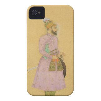 Figura ereta de um príncipe de Mughal, do pequeno Capa Para iPhone 4 Case-Mate