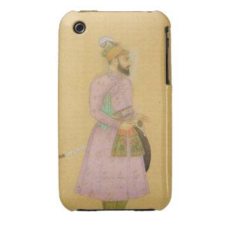 Figura ereta de um príncipe de Mughal, do pequeno Capas Para iPhone 3 Case-Mate
