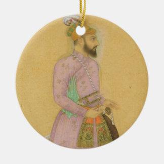Figura ereta de um príncipe de Mughal, do pequeno Enfeite