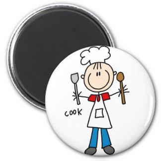 Figura ímã da vara do cozinheiro ima