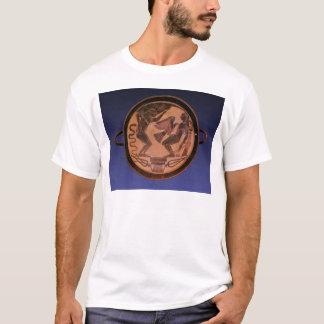 Figura preta kylix camiseta