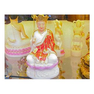 Figura religiosa chinesa cartão postal