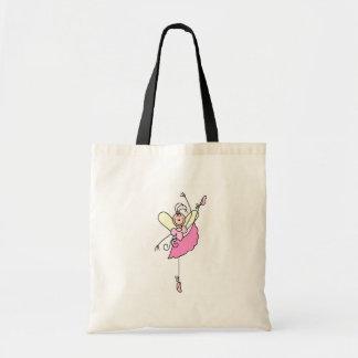 Figura saco da vara da bailarina cinco bolsa tote