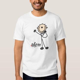 Figura t-shirt da vara do árbitro